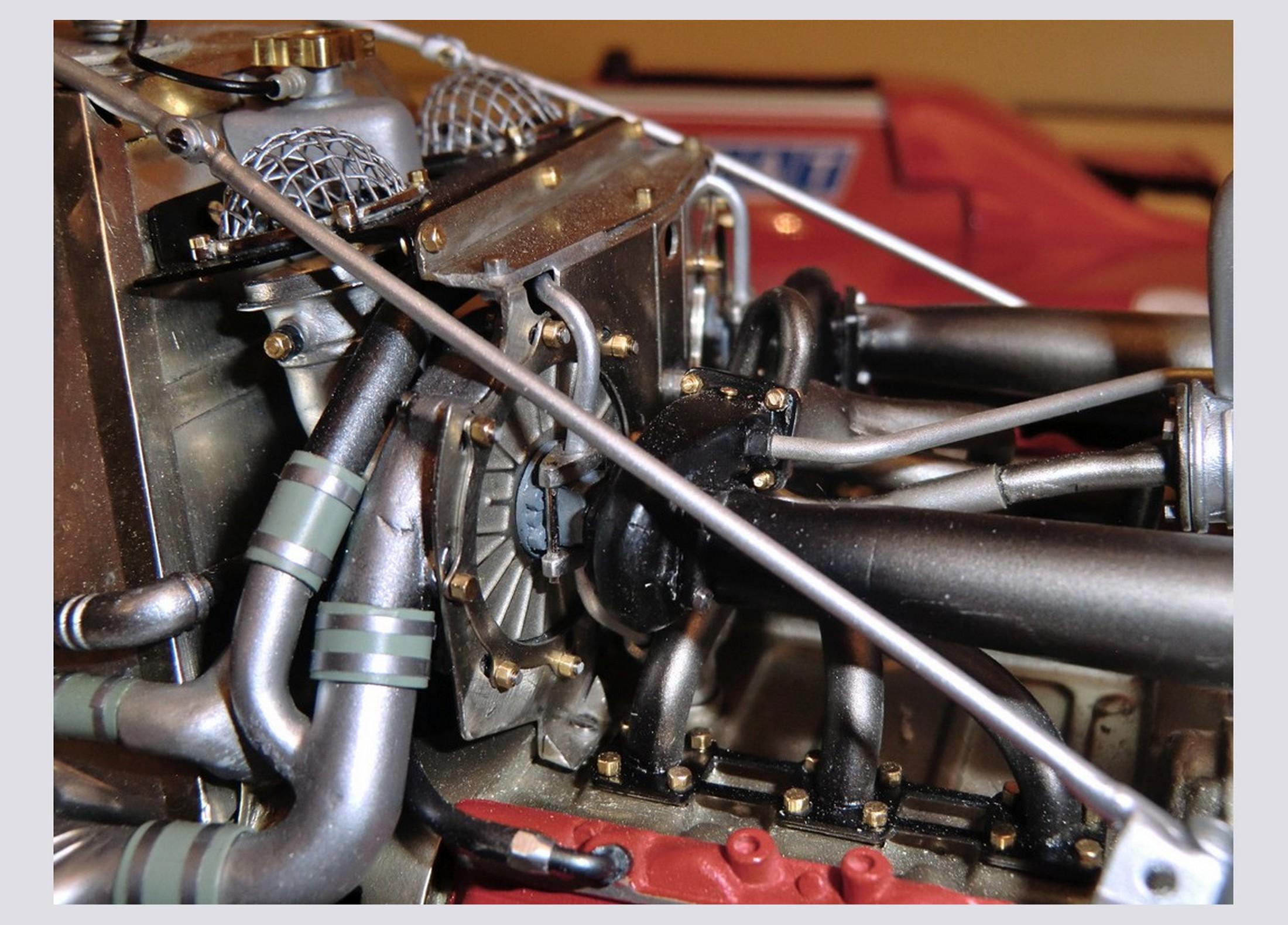 Michel Stassart Creation Ferrari 126c2 Formula 1