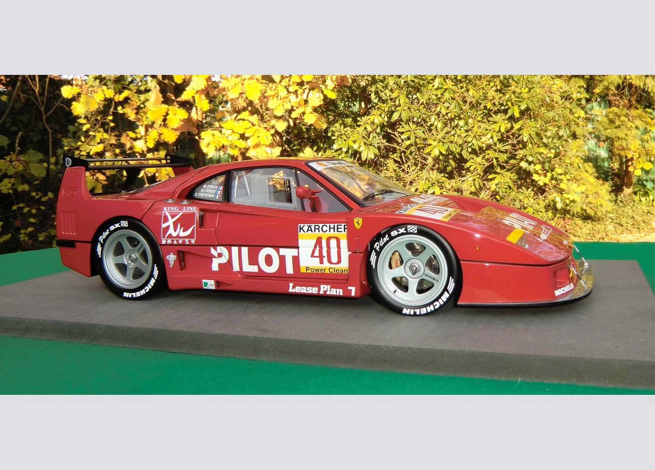 Michel Stassart Creation Ferrari F40 Lm